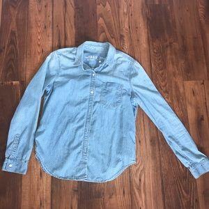 LIKE NEW GAP Medium Boy Polka Dot Icon Shirt